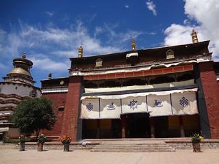 Mosteiro Palcho em Gyantse Tibete