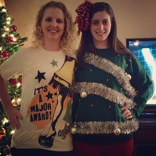 Dec 21, 2012 - tacky sweater/end of the world/white elephant party!