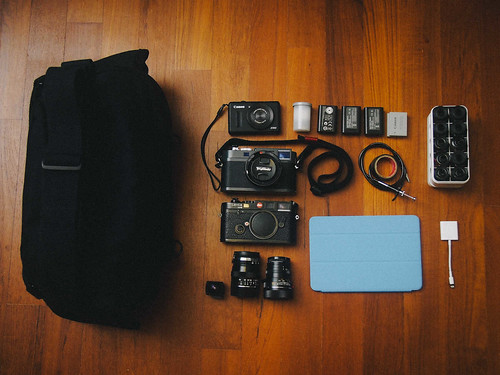 What's in my Domke camera bag (Dec 2012) - I'm going to Tokyo!