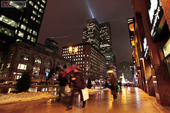 McGill College avenue - Christmas season
