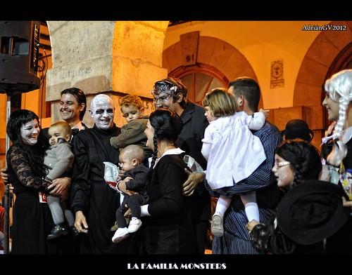 La familia Monster by ADRIANGV2009
