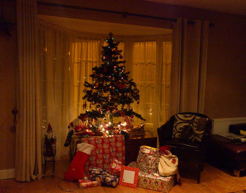 Christmas Eve in the Bay Window
