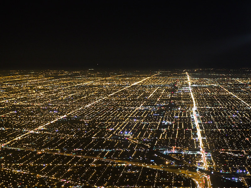 over Chicago