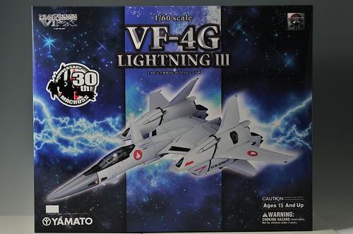 やまと 完全変形 1/60 VF-4G Lightning III 箱 表