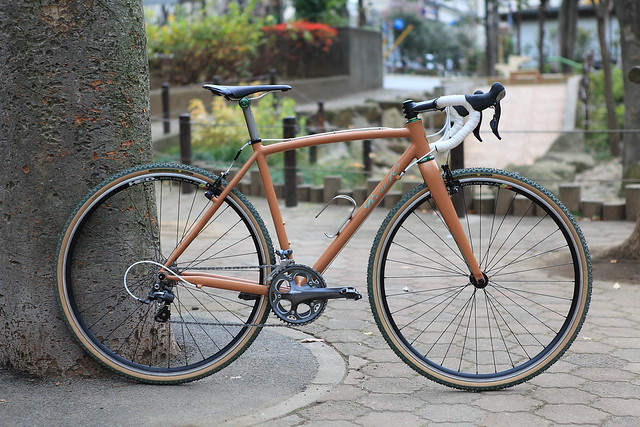 *REW10 WORKS* cx complete bike