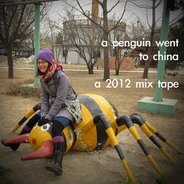 a penguin went to china