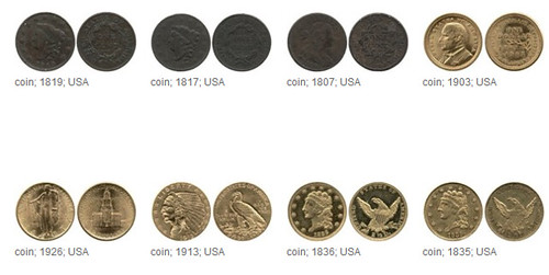 British museum U.S. coin holdings