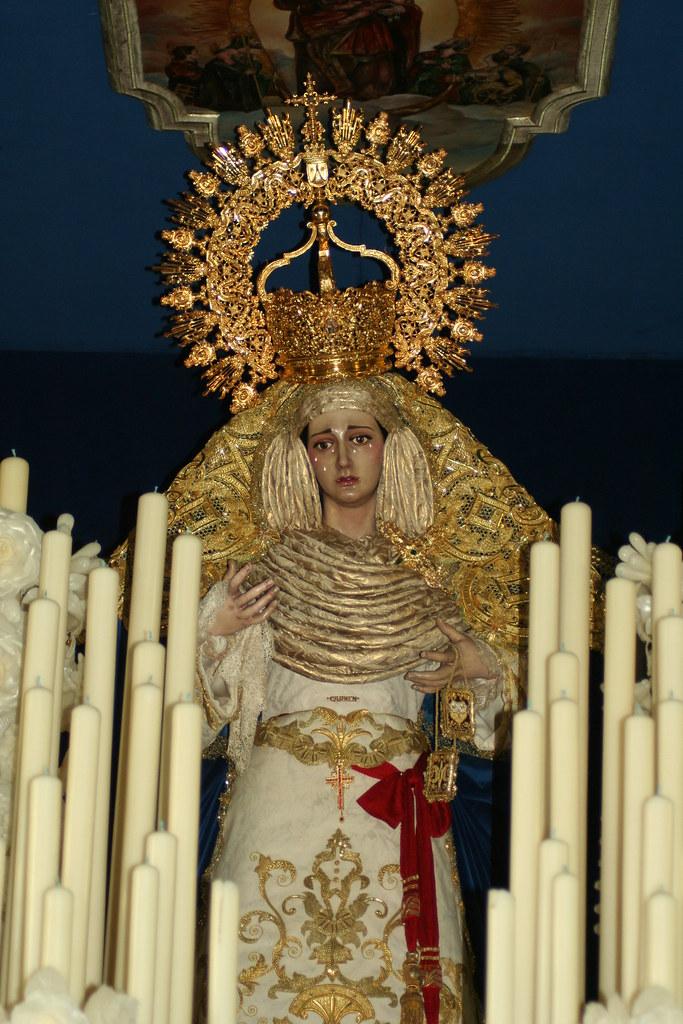 Paso de Nuestra Señora del Carmen Doloroso, 2012