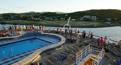 Sailing away from St. Johns