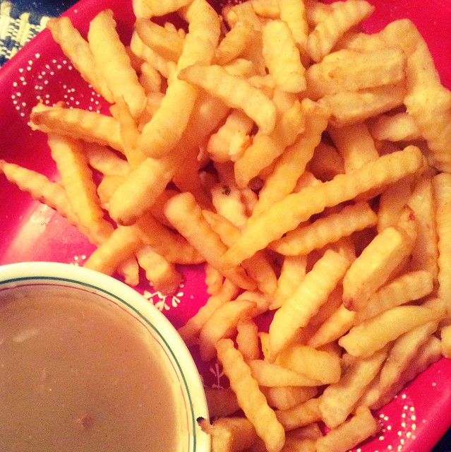 New Year's Eve = gravy fries!