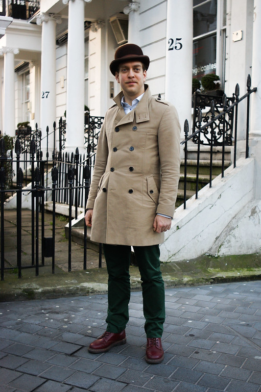 Street Style - Martin, South Kensington