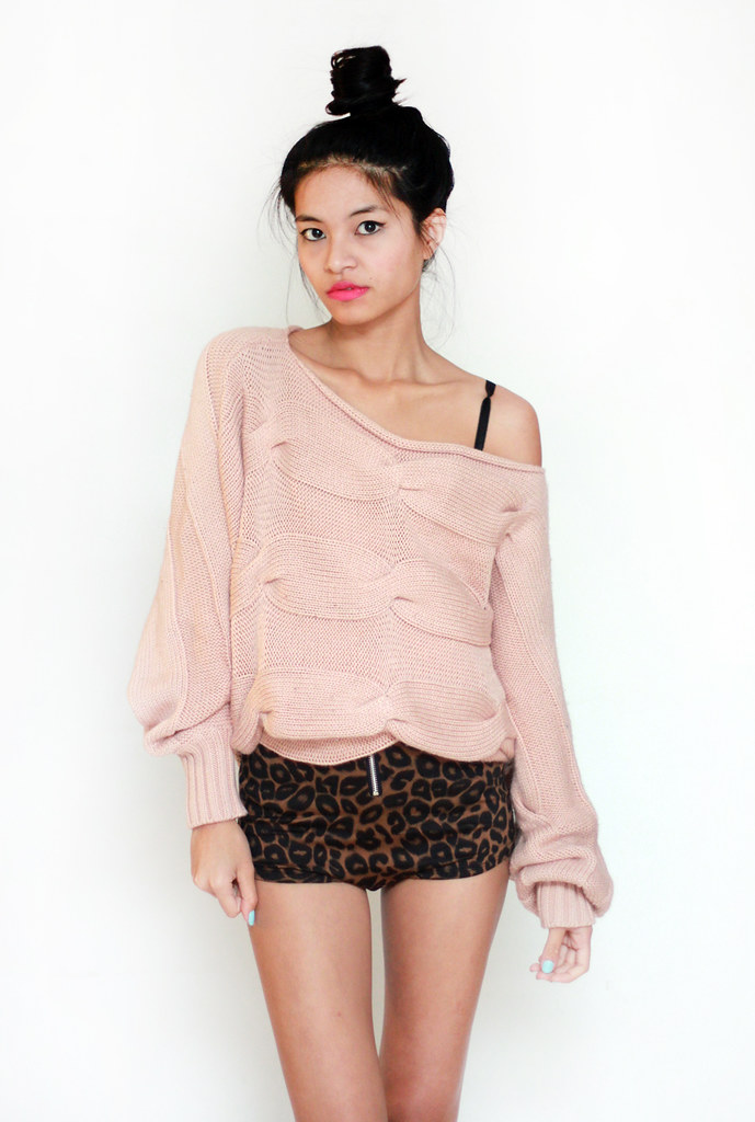 vintage knit oversized sweater by Tarte Vintage at shoptarte.com