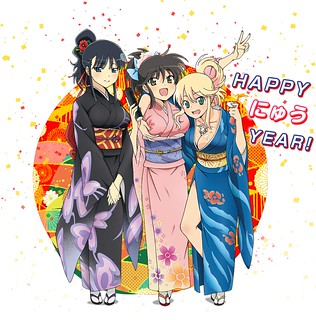 130103(1) - 「HAPPY NEW YEAR 2013」by 《閃乱カグラ》
