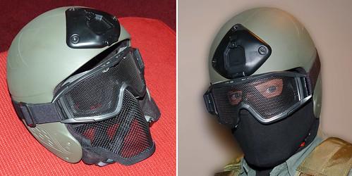 CQB protective head gear