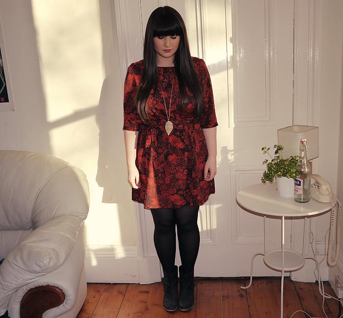 matalan red dress 2