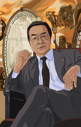 digital portrait illustration for SPH Magazines Koji (watermarked)