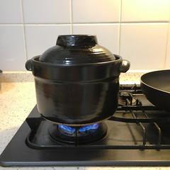 土鍋でやんす