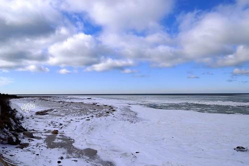Snow on Cape Cod by eHopePhotography