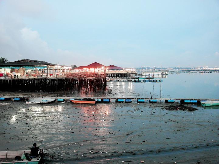 JB seafood restaurant view