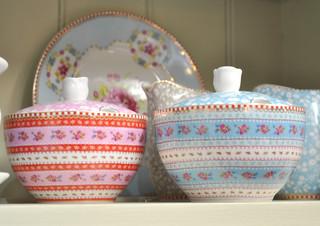 Pip Studio Ribbon Rose sugar bowls@Daisy Park