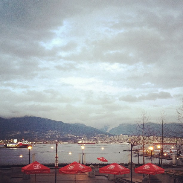 North Van, from the Mill Marine Bistro