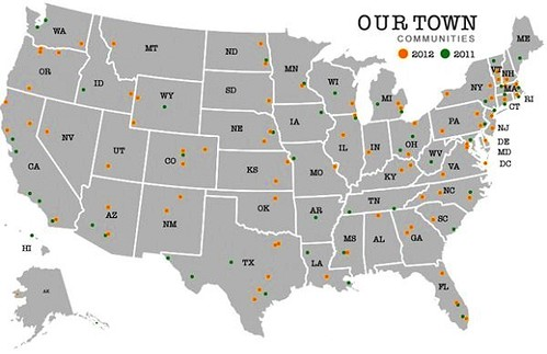 Our Town supports projects in every state (courtesy of National Endowment for the Arts)