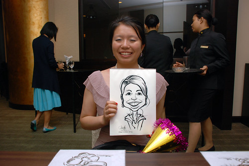 caricature live sketching for NUS - 10