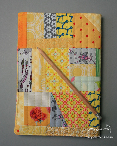 Quilted journal cover
