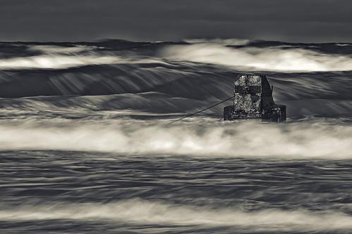 sea bw storm nature water canon eos waves poland polska natura 7d 70200 ef woda krynica przyroda marcin fale morska morze sztorm gawronski