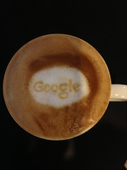 Today's latte, Google.