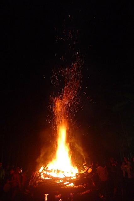 GRAND BONFIRE FESTIVAL SAGADA
