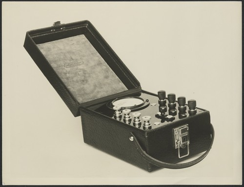 Scientific apparatus, 1939, 1