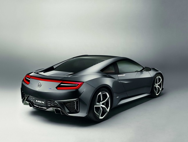 Honda NSX Concept Next Evolution