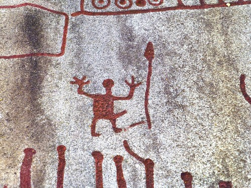 Bronze age rock carvings in Tanum, Sweden (Unesco world heritage)