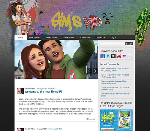 SimsVIP Version 2