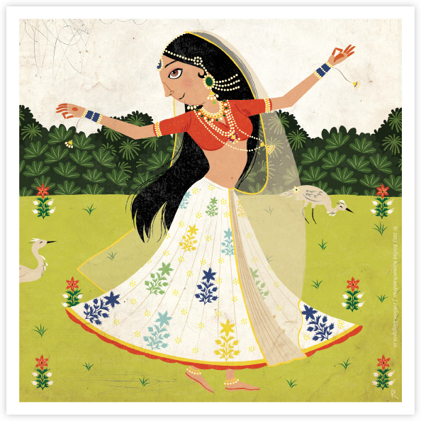 Ragamala Series | No.2: 'The Dancer'