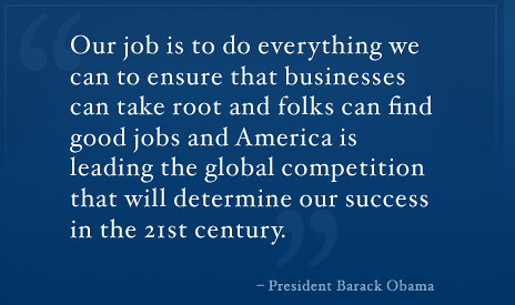 Obama - Jobs Council Quote