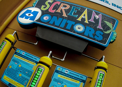 Monsters, Inc Scream Academy