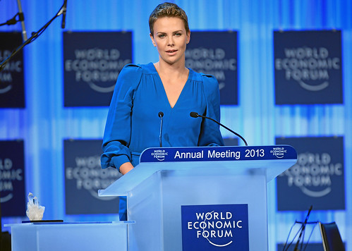 Crystal Award Ceremony: Charlize Theron