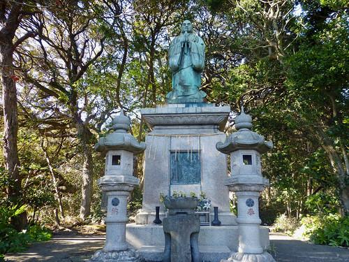 2013/01/26 (土) - 13:50 - 霊光寺 - 日蓮上人の像