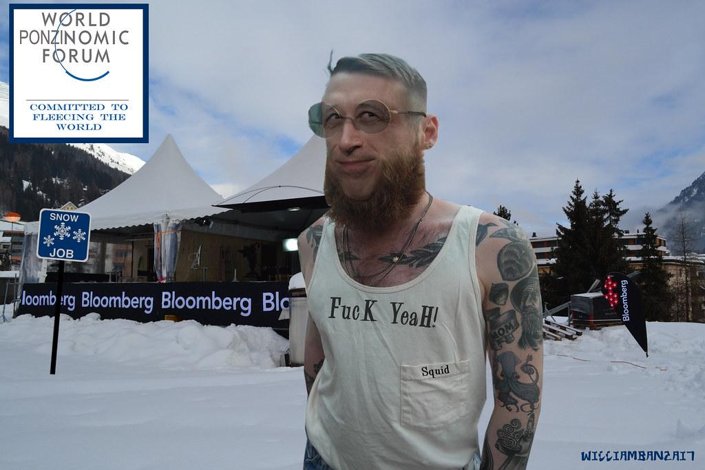 HIPSTA SQUID IN DAVOS