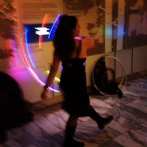 Hooping action! @museumofnature #naturenocturne