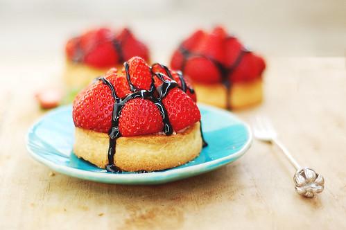 vegan tarte aux fraise