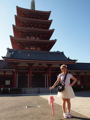 Pagoda Girl