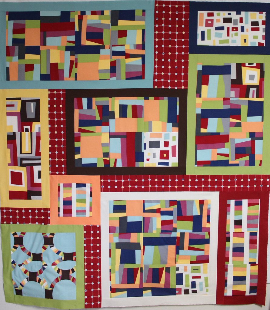 Cindy's 9-Patch Puzzle Quilt!