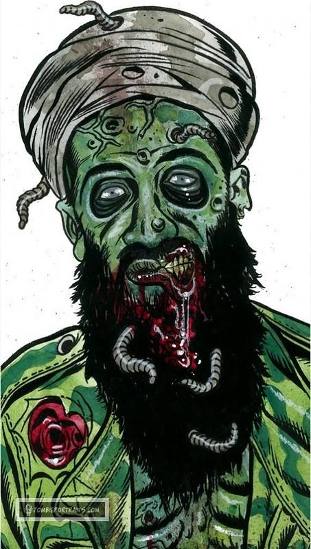 Osama bin Laden Zombie Traget