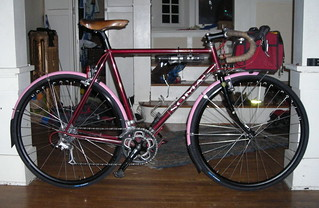 Silver fenders didn't work, but pink fenders do