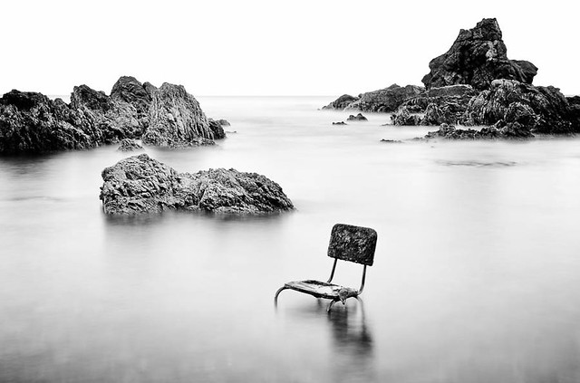The seat in Owhiro Bay