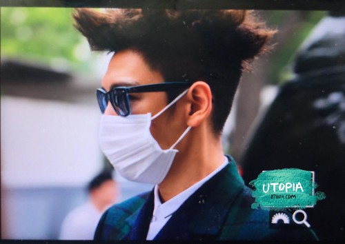 Big Bang - KBS Music Bank - 15may2015 - TOP - Utopia - 08