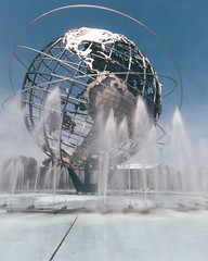 the Unisphere at Flushing Meadows